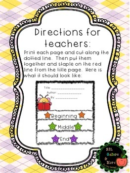 Guided Reading Story Flapbook