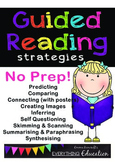 Guided Reading Strategies & Activities. NO PREP!