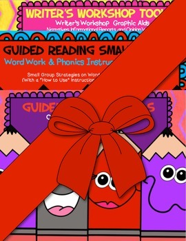 Guided Reading Strategies Bundle~ Word Work/Writer'sWorkshop/Comprehension Tools