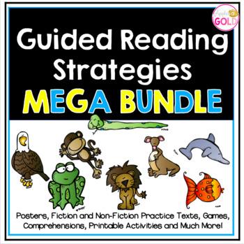 Guided Reading Strategies Mega Bundle