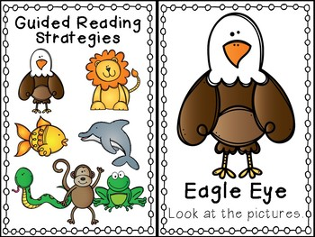Guided Reading Strategies Mini Posters