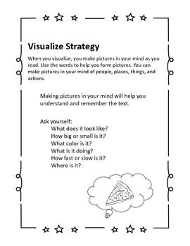 Guided Reading Strategies, Reading Comprehension,  Printables