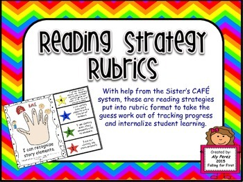 Guided Reading Strategies Rubrics LAFS First Grade