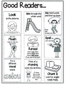 Guided Reading Strategies and Posters