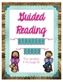 Guided Reading Strategy Cards Used with Jan Richardson