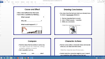 Guided Reading Strategy Cards for Fiction Texts