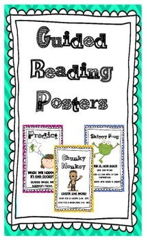 Guided Reading Strategy Posters