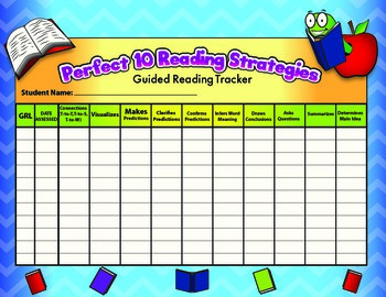Guided Reading Strategy Assessment
