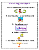 Guided Reading-Vocabulary Strategies to Explain New Words(