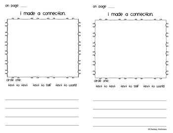 Guided Reading Strategy and Comprehension Student Booklets