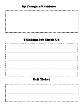 Guided Reading Student Template