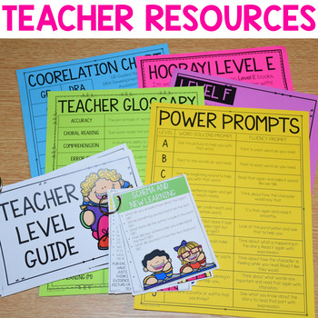 Guided Reading Resources and Tools {Word Solving, Comprehension and More}