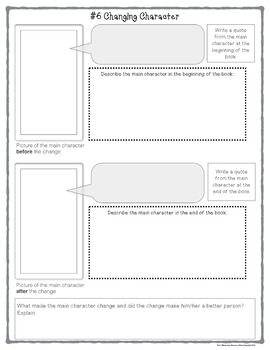 Guided Reading Task Cards