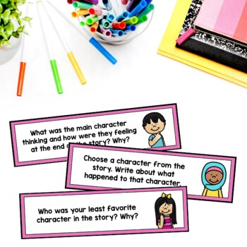 Guided Reading Task Cards (Comprehension Questions)