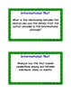 Guided Reading Task Cards:  Grade 8