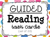 Guided Reading Task Cards {Set of 20}