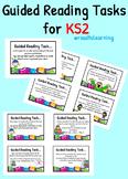 Guided Reading Task Cards for KS2