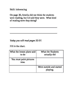 Guided Reading: Teach Us, Amelia Bedelia