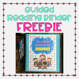 Guided Reading Teacher Binder FREEBIE