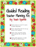 Guided Reading Teacher Planning Kit