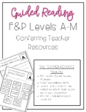 Guided Reading Teacher Resource