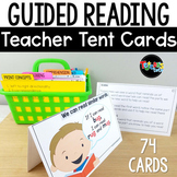 Reading Strategy Tent Cards for Guided Reading