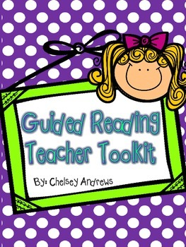Guided Reading Teacher Toolkit {Printables to Keep you Organized}