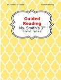 Guided Reading Teacher's Binder