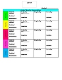 Guided Reading Template-Basic and Simple