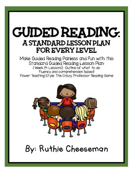 Guided Reading Template for any Level!