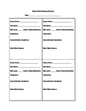 Guided Reading Templates