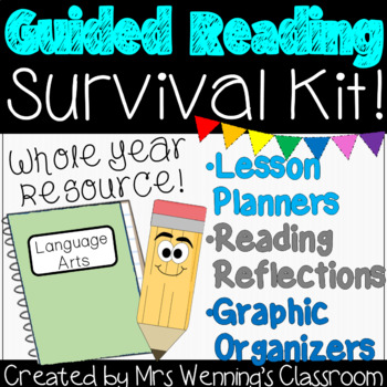 Guided Reading Templates and Graphic Organizers
