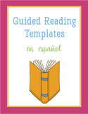 Guided Reading Templates in Spanish