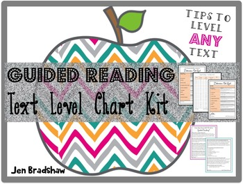 Guided Reading Text Level Chart, Correlation, How to Level Texts