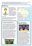 Guided Reading: The Football World Cup 2014.