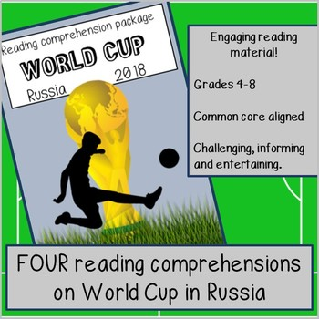 Guided Reading: The Football World Cup 2014. Four activities