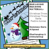 Christmas Reading Comprehension Package