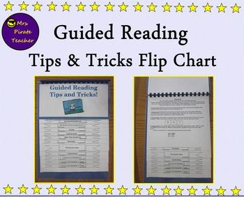 Guided Reading Tips and Tricks Flip Chart for K-2 Teachers