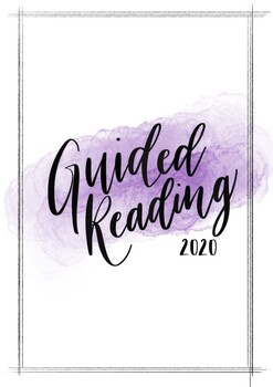 Guided Reading Title Page 2020