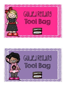 Guided Reading Tool Bag