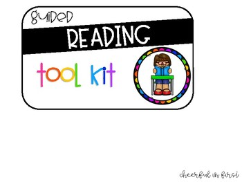 Guided Reading Toolkit Labels