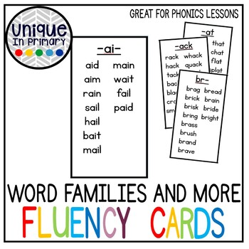 Guided Reading Toolkit- Word Family, S Blends, L Blends,Vowel Blends ETC Cards