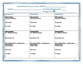 Guided Reading Tools: Lesson Plans & Observational Notes