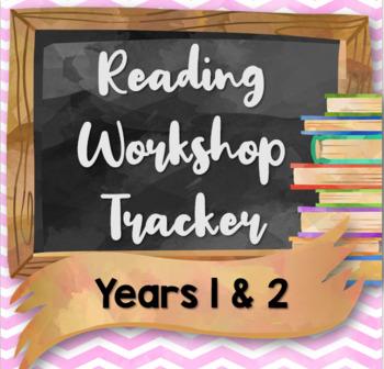 Reading Workshop Tracker for Key Stage 1