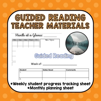 Guided Reading Teacher Materials