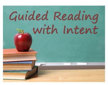 Guided Reading Training Kindergarten, 1st, & 2nd Grade