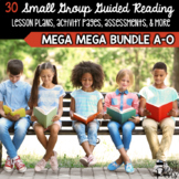Guided Reading Ultimate Bundle Levels A to O