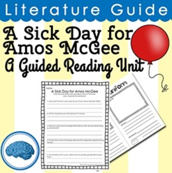 Guided Reading Unit: A Sick Day for Amos McGee