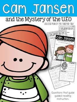 Cam Jansen and the Mystery U.F.O. Literature Unit