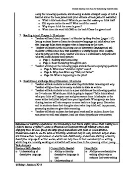 5th/6th Grade ELA- Unit Plan with Assessments for Hatchet by Gary Paulsen